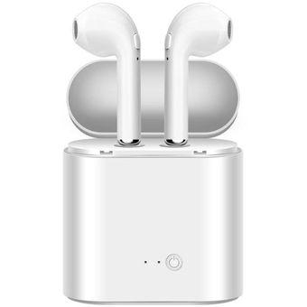 2fde5cf484e Agotado Audifonos Inalambricos I7 TWS Bluetooth TIPO AIRPODS Para IPhone O  Android