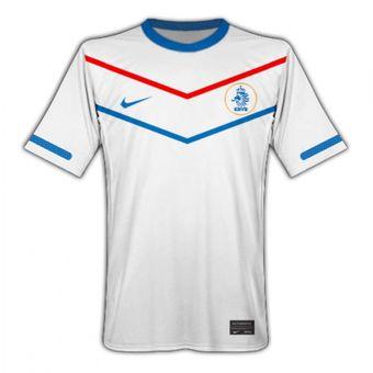 Compra Jersey Nike De La Seleccion De Holanda De Visitante Blanca