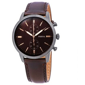 868b37ffb5b7 Reloj Analógico marca Fossil Modelo  FS5437 color Café para Caballero