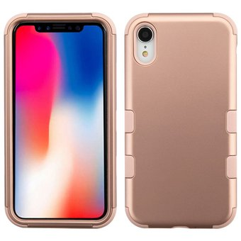 c2c35f2f4e5 Compra Funda Case Iphone XR Doble protector Uso Rudo Tuff - Rose ...