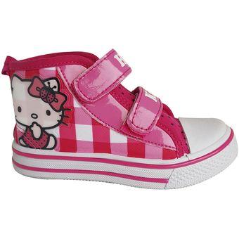 05d0f360 Compra Zapatilla Hello Kitty Caña Alta Rosada online   Linio Chile
