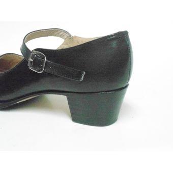 ae4c9782 Calzado para baile Folklorico/Flamenco marca COLONIAL est 125 Color NEGRO