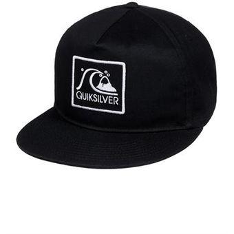 Compra Gorra Hombre Graf Quiksilver - Negro online  3c59ff4db0e