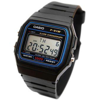 d2397f671fac Compra Reloj Casio Clasico F91 Digital Unisex Plastico   Negro ...