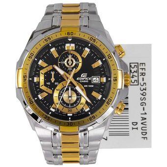 de4e8d7dec7d Agotado Reloj Casio Edifice Cronógrafo EFR-539SG-1AV Analógico Hombre -  Negro