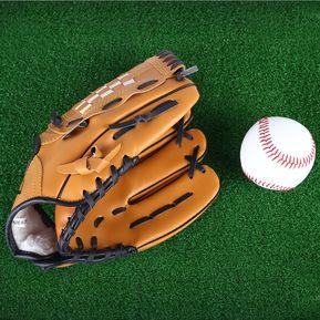 76302c95cc7e8 Deportes al aire libre Brown Practice Left Hand Softball ()