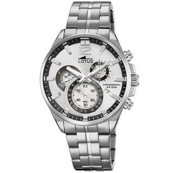 Reloj 10136/1 Plateado Hombre Chrono Lotus