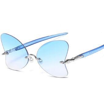 03bb8d55cd Compra Gafas De Sol Unisexo Lightake-Plateado+azul online   Linio ...