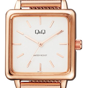 77d70a55c3a2 Compra Reloj Q Q qb51j011y Para Dama Lujoso Oro Rosa  Blanco online ...