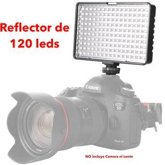 Reflector Luz Led Travor De 120 Para Camara Dsrl Video Filmadora Iluminacion Continua No Yongnuo Linio Perú Tr027el0a3ewglpe