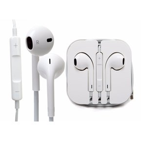 0cd31d405cd Apple - Audifono Earpods 100% Originales IPhone 5c 5s 6 6 Plus - Blanco
