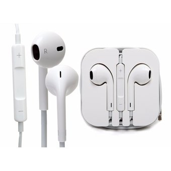 4be438e71b5 Apple - Audifono Earpods 100% Originales IPhone 5c 5s 6 6 Plus - Blanco