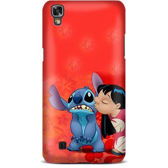 8c5361ff0a4bd Agotado Kustomit - Carcasa LG X Power - Disney - Lilo Y Stich - Kiss - Case