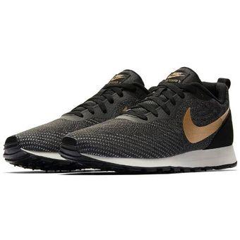 Zapatillas Running Hombre Nike Md Runner 2 Eng Mesh Gris con Dorado