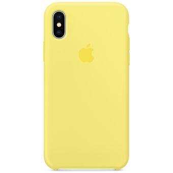b9afbaba682 Compra Forro Silicone Case Iphone X Estuche Amarillo Silvestre ...
