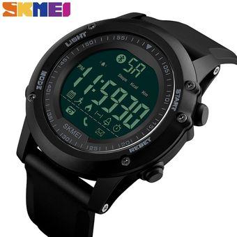 8451db94de5a Hombres Reloj Inteligente Podómetro Relojes De Pulsera Digitales A
