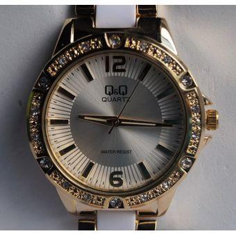 89b8678d8b28 Agotado Reloj Marca Q Q Modelo VR06J005Y Análogo Resistente Al Agua  Elegante Color Combinado Original