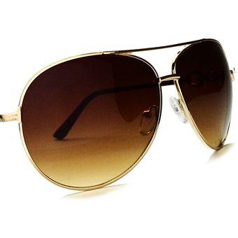 Agotado Lentes De Sol IRIS Gafas Aviador Piloto Para Hombre Mujer  Vacaciones Accesorios Deportes Café 18dbb2232834