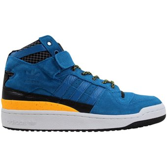 size 40 b9631 beef1 Tenis de hombre Adidas Forum Mid Refined F37835 Azul