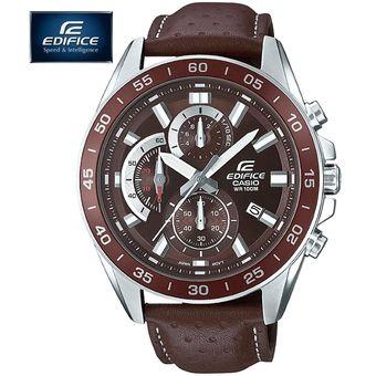 2331ee00617f Reloj Casio Edifice EFV-550L-5AV Con Numero de Serie Cronometro Fecha  Correa de