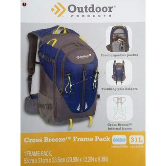 Compra Mochila Outdoor Cross Breeze Frame Pack 4161 Capacidad 31 L ... a003c40465c91