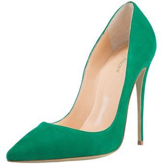 Zapatos verdes formales para mujer 6QGQJw3