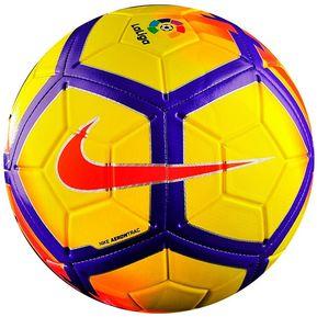 be7923d7fab07 Balón Fútbol Nike Strike La Liga-Amarillo Morado