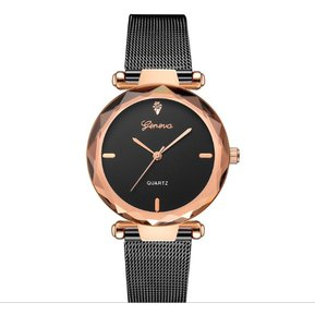 a2a8a1c9a51e Geneva - Reloj pulsera Luxury Análogo quarz - negro
