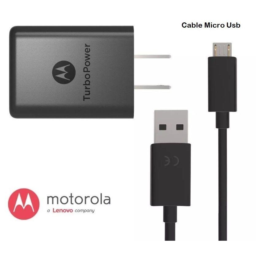 Cargador Carga Rapida Motorola Moto E4 Plus E4