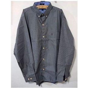 Camisa Manga Larga Tommy Hilfiger Hombre - Gris Oscuro 35541aab5e98f