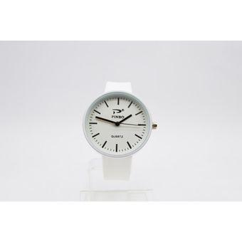 247f16b9860b Compra Reloj Analogico Goma Mujer Kipuy - Blanco online