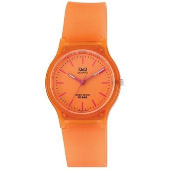 Reloj quartz mujer oro