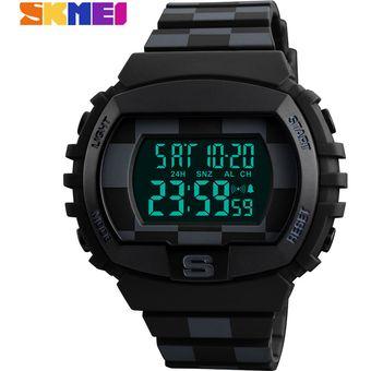comprar popular 49f3f 79a38 SKMEI Reloj Deportivo Para Hombre Reloj Digital Electronic Negro