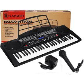 f6a0db491a6c0 Teclado Musical Profesional Con 54 Teclas Y Multifunciones De Grabacion Es  Increible
