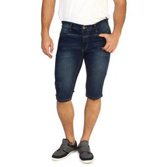 Bermudas F Azul Jeans Oscuro Conox Hombre Premium Ok08wnPX