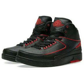 44766b02555 Botas Nike Air Jordan Retro 2 Chicago para Niño