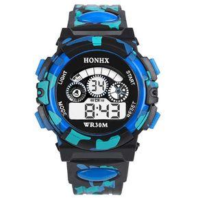 Reloj Electrónico HONHX Sports Para Niños G62 Azul 7796c473abca