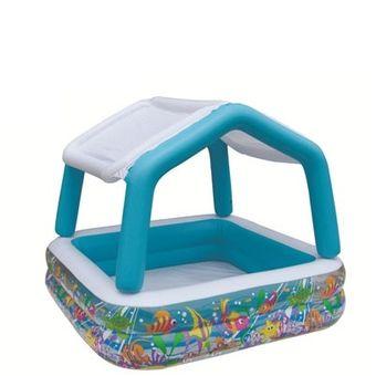 Compra intex piscina con techo desmontable online for Parches para piscinas intex
