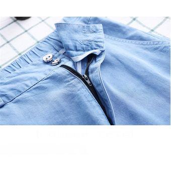 Pantalones Vaqueros Azul Claro Para Mujer Pantalon De Pierna Ancha Linio Peru Ge582fa1mpin7lpe