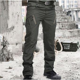 Pantalones tácticos militares de ciudad para hombre ...