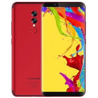 Smartphone UMIDIGI S2 Lite 4G 32GB 4GB RAM-Rojo