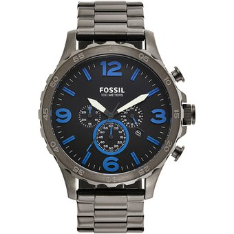 c1949a9601cc Compra Reloj Fossil Cronógrafo JR1478 Analógico Hombre - Gris online ...