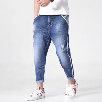 Nueve Jeans Pantalones Moda Haren Algodon Para Hombre Azul Linio Mexico Ge032fa1cqqddlmx