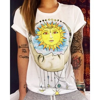 Cool Girls Camisetas De Talla Grande Novedad De Verano Totems Imprimir Manga Corta Suelta Mujer Camiseta Casual Senora Slim Tops Camisetas E T Shirt Fuc Linio Peru Un055fa0p3i2xlpe