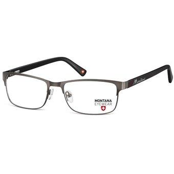 db6bf475cde52 Monturas Montana Oftálmicas Livianas Metalicas Para Lentes Opticos  Formulados - Gafas Marco MM620A - Plomo