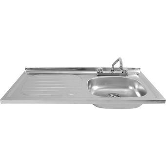 Compra Fregadero Izq. 93422 505 + Kit de Instalación Tramontina ... 7e96f1b3bb94