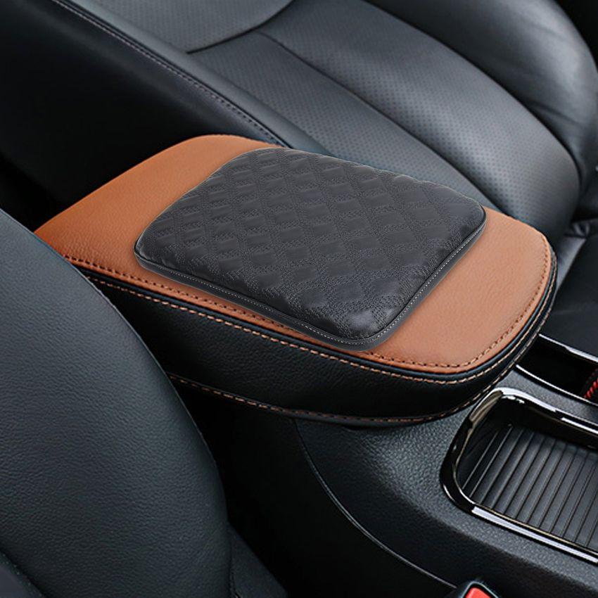 Para Smart Auto Apoyabrazos Consola Central Reposabrazos Accesorios Beige