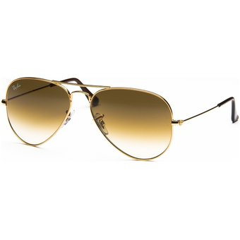 556e2026b Compra Lente Ray Ban Aviator RB3025 001/51 Dorado - Marron Degrade ...