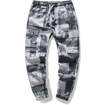 Pantalones De Marca Para Hombre Moda Otono De Cintura Elastica Pantalones Largos Pantalones Para Correr De Camuflaje Ropa Informal Estilo Hip Hop Militar Wan 2 Joggers Men Linio Peru Ge582sp0jrmrvlpe
