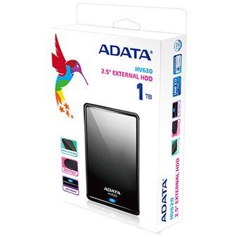 Compra Disco Duro Externo Adata HV620 2.5  , 1TB, USB 3.0, Negro Mac ... a01e0c3244